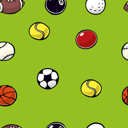 Sports Ball Repeat Vector