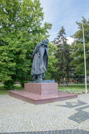 Gdansk, Poland - June 27, 2017: The Polish Marshal Jozef Pilsudski Monument.