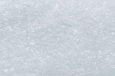 Snow on the car windscreen.