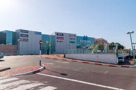 Eilat, Israel - February 9, 2019: Mall Hayam Eilat. Mall Hayam in Eilat is the most profitable mall in the country.