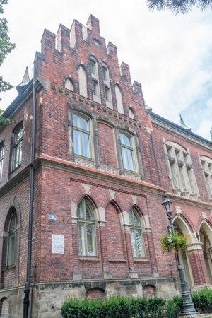 Wieliczka, Poland - July 27, 2019: School of mining salt-works museum.