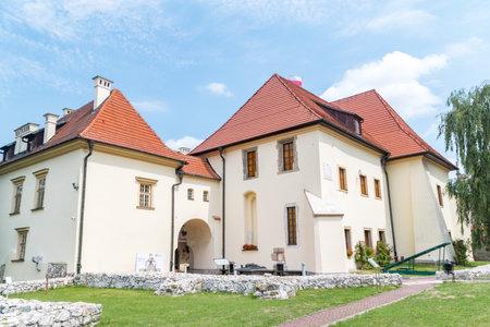 Wieliczka, Poland - July 27, 2019: Wieliczka Zupny Castle. Publikacyjne