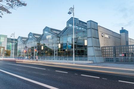 Dublin, Ireland - November 5, 2019: EPIC The Irish Emigration Museum.