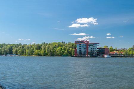 Panoramic view of Mikolajskie lake.
