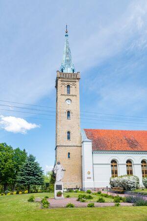 Evangelical Augsburg Parish Trinity church in Mikolajki.