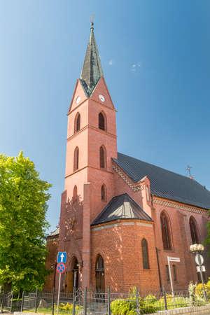 Evangelical Church of the Augsburg Confession in Olsztyn, Poland.