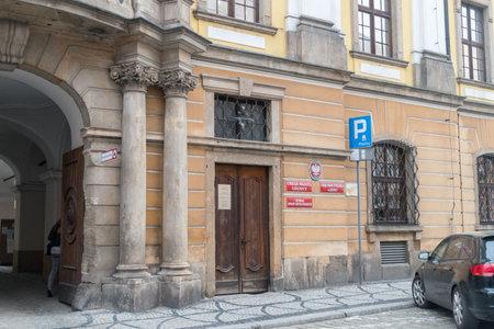 Legnica, Poland - June 1, 2021: City hall of Legnica.
