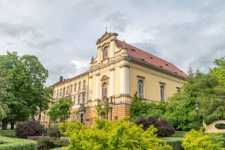Legnica, Poland - June 1, 2021: Liceum Ogolnoksztalcace no. 1. Editorial