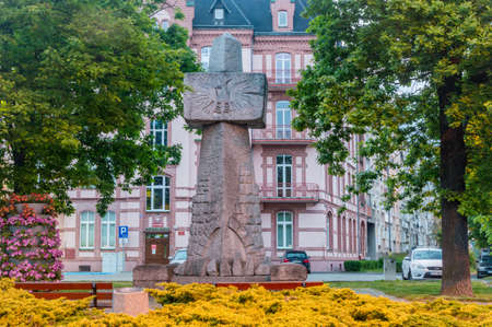 Zgorzelec, Poland - June 2, 2021: Millennium Monument. Editorial