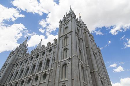 lds: The Salt Lake Temple  Stock Photo
