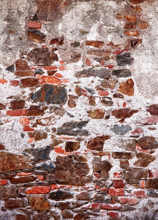 Old dirty colorful brick wall texture. Stock Photo - 13180860