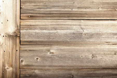 Closeup of the outdoor old wooden ground  photo