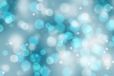 sone: An abstract blue bright bokeh background.