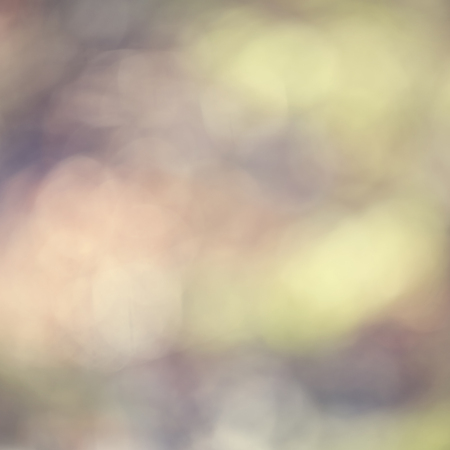 Abstract bokeh sunny spring color light blurry background.
