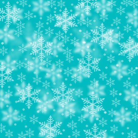 Art�stico azul del copo de nieve de fondo ilustraci�n.
