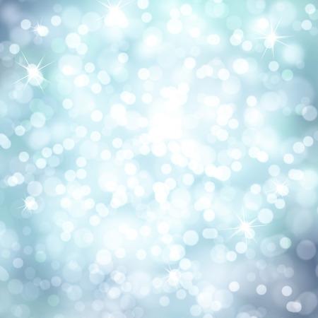 스파클 소프트 블루 컬러 추상 겨울 휴가 bokeh 배경입니다. 복사 공간 배경으로 아름 다운 밝은 파란색 색깔의 새 해와 크리스마스 휴일 나뭇잎 그림.