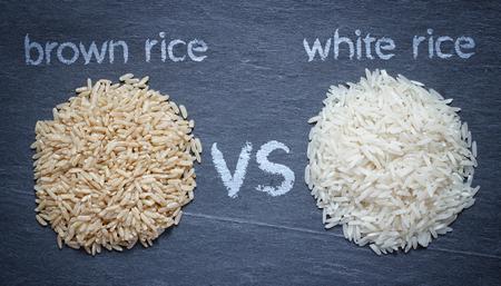Brauner Reis vs weißer Reis