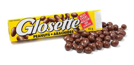 hershey's: Toronto, Canada - May 10, 2012: This is a studio shot of Glosette Peanuts candy made by The Hershey Company isolated on a white background.