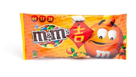 Taipei, Taiwan - January 17, 2013: This is a studio shot of M&M Stock Photo - 17465227