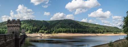 Derwent Reservoir in the Upper Derwent Valley in the Peak District National Park.