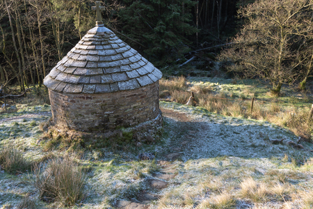 St Joseph's shrine at Goyt valley within the Peak District National Park.