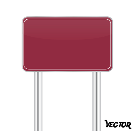 Board sign on white background Stock Vector - 24261751