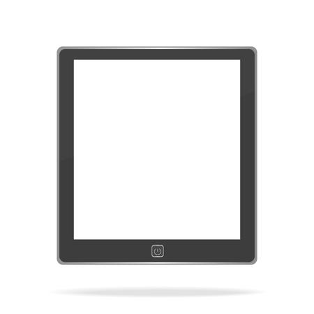 e book: E book on white background Illustration