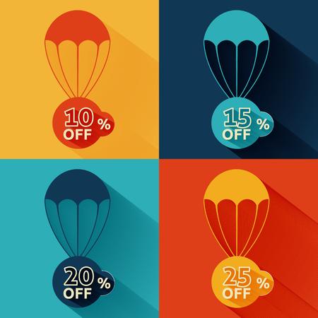 parachute: Discount parachute set