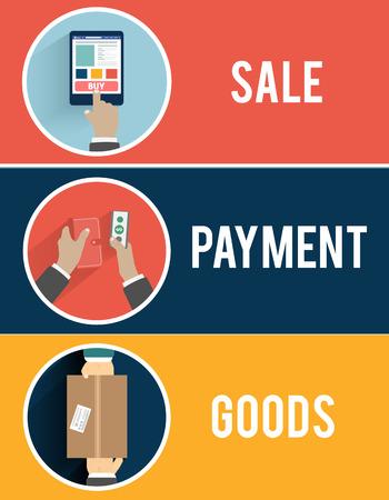 orden de compra: De compras por Internet los procesos comerciales de la orden de compra y entrega. El cliente paga el env�o