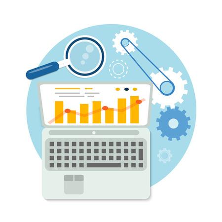 seo optimization: SEO optimization, programming process and web analytics elements
