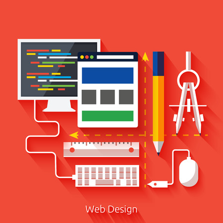 display size: Set for web and mobile applications of web design