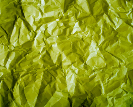 scrunch: Texture of crumpled paper background. Creased paper texture. Vector illustration