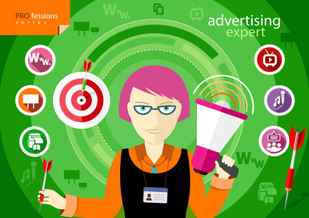 expertize: Advertising expert of marketing profession series
