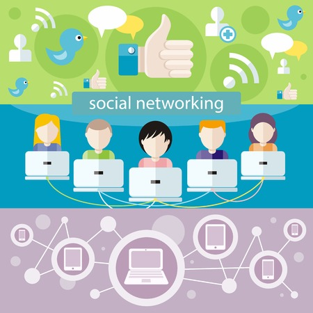 social network service: Social media avatar network connection concept. People in a social network. Concept for social network in flat design. Globe with many different peoples faces