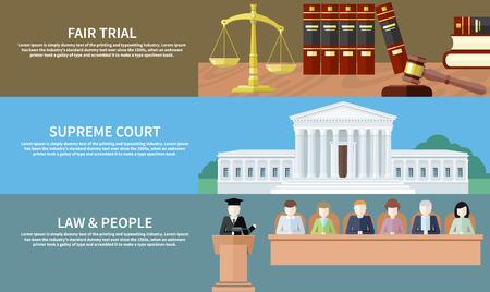 abogado: Hombre en la corte. Abogado iconos concepto. Juicio justo. Corte Suprema. Derecho y personas. Concepto de estilo de dise�o plano. Puede ser utilizado para la web banners, marketing y materiales de promoci�n, plantillas de presentaci�n