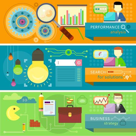 estrategia: An�lisis de rendimiento y hombre de negocios que presenta el desarrollo y la planificaci�n financiera. Creaci�n de plan de estrategia de negocio, generando informe. Trabajo del hombre con la computadora port�til. B�squeda de soluciones de infograf�a