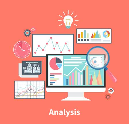Monitors trading forex movement price