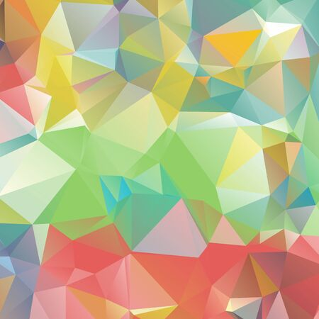 colorful: Abstract geometric background. Multicolored triangles background. Beautiful inscription. Triangle background with bright lines. Pattern of crystal geometric shapes