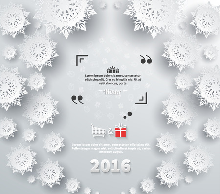 quotation marks: Snowflakes background for winter and new year, christmas theme. Snow, christmas, snowflake background, snowflake winter 2016. Quote bubble, quote marks, quotation marks, quote box, get a quote.