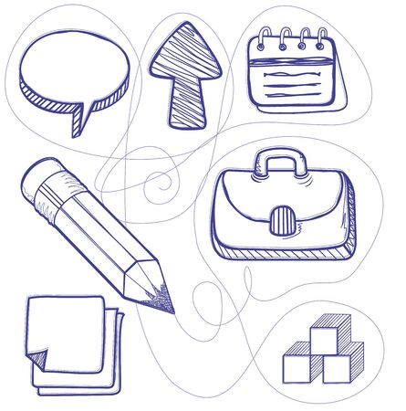 organize: Hand drawn management design line. Management business drawing, hand drawn and strategy sketch, organization doodle, connection sketching, pencil and page drawn, organize sketchy illustration