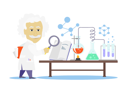 medical laboratory: Biology laboratory workspace and science equipment concept. Medical laboratory.