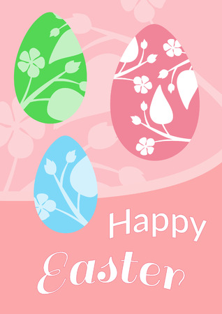 pascuas navideÑas: Brochure layout easter card, easter postcard, easter egg, spring and happy easter holiday