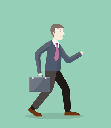 investmen: Time for invest, man with briefcase. Time investmen concept, finance and money, investor and stock market, business man invest gold, old gold money, banking treasure, roll dollar invest illustration