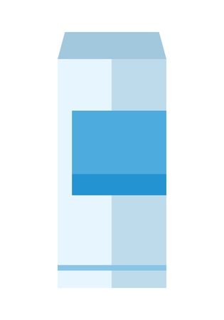 aluminum can: Aluminum can with blue label. Bottle of drink. Energy drink can. Aluminum can icon. Retail store element. Simple drawing. Isolated vector illustration on white background. Illustration