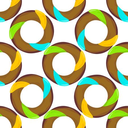 glazing: Donut seamless background texture pattern. Cute donuts with glazing. Seamless pattern. Delicious donut glazed. Donut pattern. donuts pattern. Chocolate donuts. Isolated donuts seamless pattern