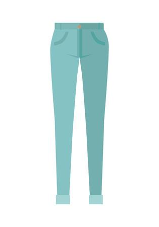 unisex: Trousers Unisex Pants Isolated on White Background