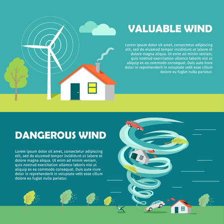 valuable: Valuable, Dangerous Wind Banners. Strength Levels Illustration