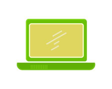 flat: Laptop Flat Icon