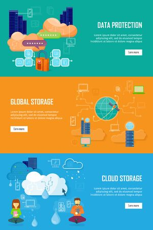 protected database: Data Protection, Global Storage and Cloud Storage