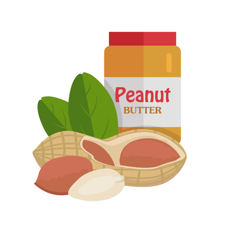 oil crops: Peanuts with Peanut Butter.